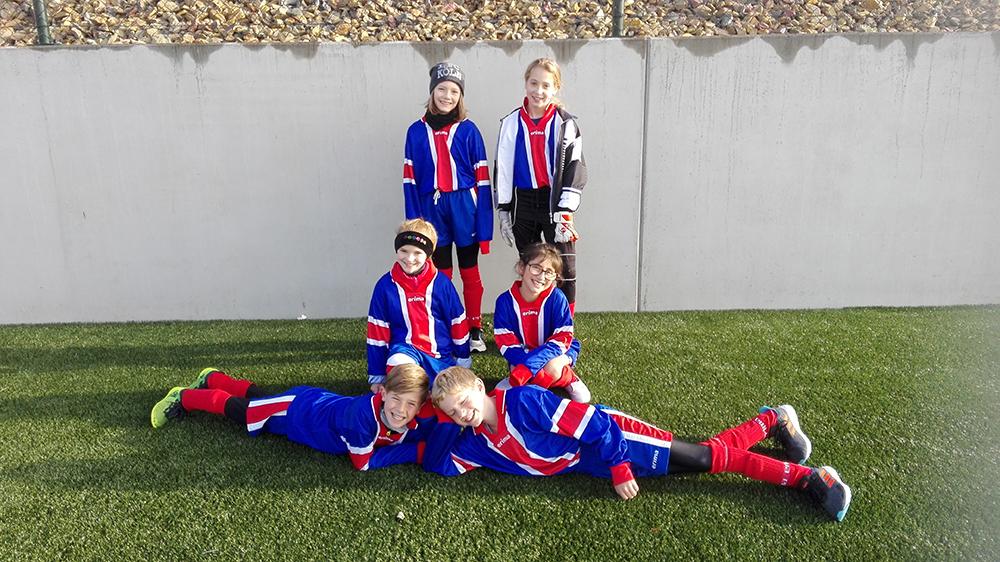Fußballturnier für Schulen in Amel
